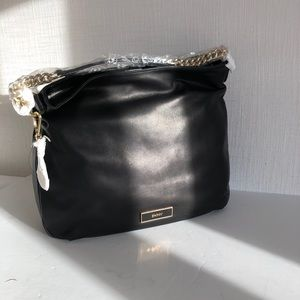 DKNY - brand new purse - black leather